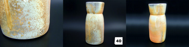 Vase aus feingeschlämmtem Porzellan